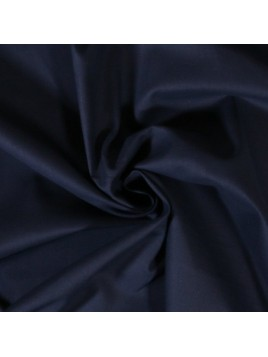 Coton Uni Bleu Marine