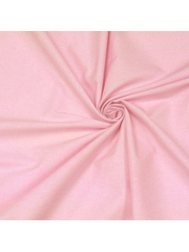 Coton Uni Rose Pâle