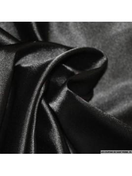 Satin Uni Noir