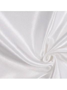 Satin Uni Blanc