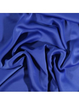 Crêpe Satin Bleu Roi