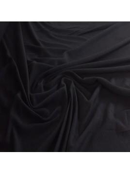Jersey Coton Uni Noir