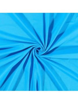 Jersey Coton Uni Turquoise