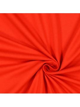 Jersey Coton Uni Rouge