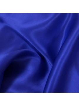 Satin de Soie Bleu Roi