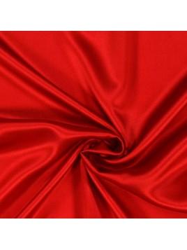 Satin de Soie Rouge